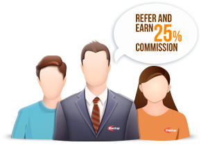 Refer and earn 20% commission